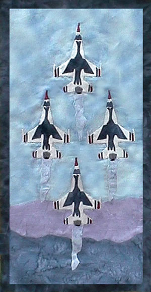 US Air Force - Block 6 - Thunderbirds Diamond - Pattern Only