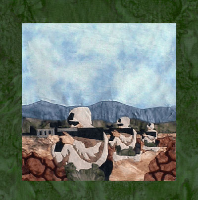 US Marines - Block 7 - Front Lines - Pattern Only