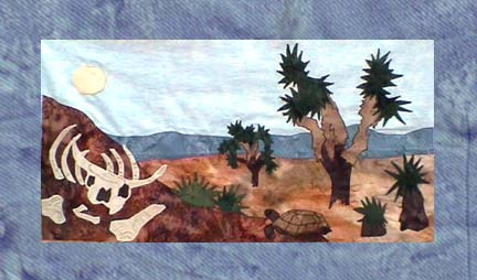 State of California - Block 12 - Joshua Trees in Death Valley - Pattern Only