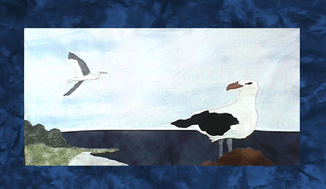 State of Maryland - Block 2 - Gulls and Cranes - Pattern Only