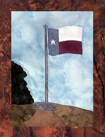 State of Texas - Block 7 - Texas State Flag - Pattern Only