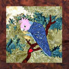 Parrots of Paradise - B4 - Gang Gang with Nectar - Pattern Only