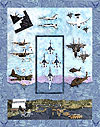US Air Force - All Blocks 1-10 - Kit with Pattern and Fabric