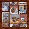 Old Tyme Kitchen - All Blocks 1-10 - Patterns Only