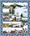 State of California - All Blocks 1-13 - Kit with Pattern and Fabric