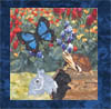 US Lake Butterflies - B6 - Colorado Hairstreak, Rabbit and Turtle - Pattern Only